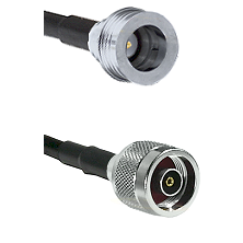 QN Male on LMR-195-UF UltraFlex to N Reverse Polarity Male Cable Assembly
