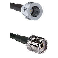 QN Male Connector On LMR-240UF UltraFlex To UHF Female Connector Cable Assembly