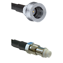 QN Male on RG58C/U to FME Female Cable Assembly