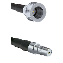 QN Male on RG58C/U to QMA Female Cable Assembly