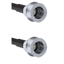 QN Male on RG58C/U to QN Male Cable Assembly