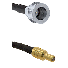 QN Male on RG58C/U to SLB Male Cable Assembly