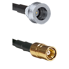 QN Male on RG58C/U to SMB Female Cable Assembly