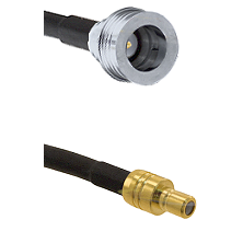 QN Male on RG58C/U to SMB Male Cable Assembly
