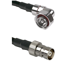 7/16 Din Right Angle Male on LMR-195-UF UltraFlex to C Female Cable Assembly