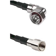 7/16 Din Right Angle Male on LMR-195-UF UltraFlex to FME Male Cable Assembly