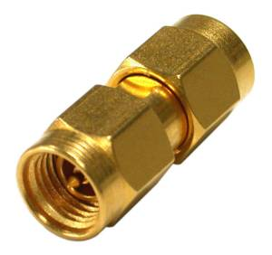 RF35M-35M-G0000 RF Industries ADAPTER, 35 mm MALE TO 35 mm MALE, Gold,Gold,R