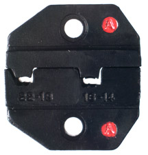 RFA-4005-22 RF Industries DIE SET FOR NON-INSULATED FLAG TERMINALS FROM 05 TO 25 SQ MM AWG 22-18