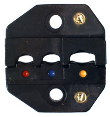RFA-4005-24 RF Industries DIE SET FOR INSULATED TERMINALS FROM 05 TO 6 SQ MM AWG 22-18, 16-14, 12