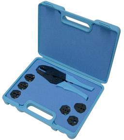 RFA-4005-501 RF Industries Master Crimping Tool Kit w/6 dies w/Case