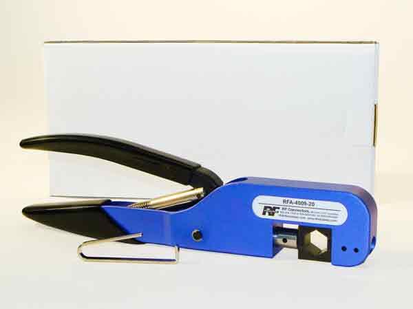 RFA-4009-204 RF Industries HEAVY DUTY CRIMP HANDLE WITH RFA-4009-04 DIE SET, HEX CAVITIES: 068, 13