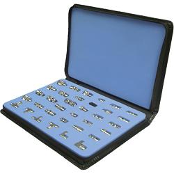 RFA-4010 RF Industries MASTER CELLULAR RADIO COAXIAL ADAPTER KIT, 34 PC
