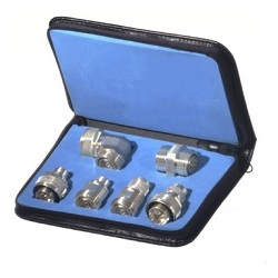 RFA-4013 RF Industries 7/16 DIN Adapter Kit - 6 PCS