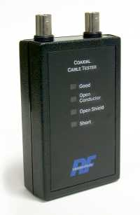 RFA-4017-01 RF Industries CABLE TESTER WITH BNC FEMALE TERMINATIONS