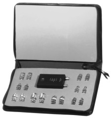 RFA-4017 RF Industries TECHNICIANS CABLE TESTING KIT, INCLUDEDS RFA-4017-01, WITH 16 ADAPTERS TO TES