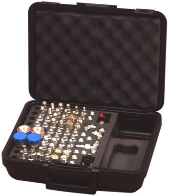RFA-4020 RF Industries UNIDAPT MEGA KIT; 70 PCS; ALL ADAPTER IN RFA-4019 & RFA-4023-01, HINGED CASE