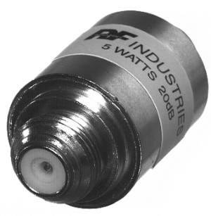 RFA-4043-20-5W RF Industries UNIDAPT ATTENUATOR, 20dB 5 WATTS