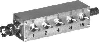RFA-4056-03 RF Industries ATTENUATOR, BNC, SWITCHED, 1-30 DB,1 DB STEPS, 1 WATT