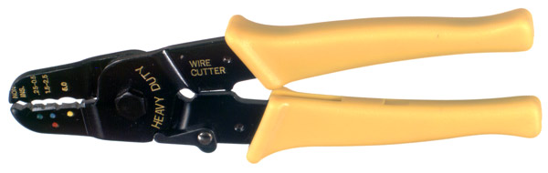 RFA-4209 RF Industries CRIMP PLIERS: WIRE CUTTER UP TO 60 SQ MM; FOR INSULATED TERMINALS 025 TO