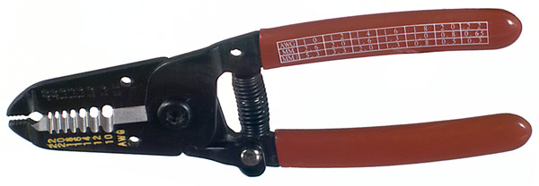 RFA-4215 RF Industries WIRE STRIDielectric POLYPROPYLENEER & CUTTER: 3-IN-1 PLIERS, CUTTER & WIRE ST