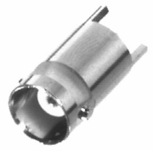RFB-1115-3 RF Industries BNC FEM VERT PCB MNT, 3 LEGS, Nickel,Gold,T
