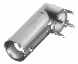 RFB-1115-6 RF Industries BNC FEM Right Angle PCB MNT (LONG) HF CONN, Nickel,Gold,P