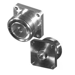 RFD-1644-2SR1 RF Industries 7/16 DIN FEM 4-HOLE FLANGE, S,S,T; FOR 085 SEMI-RIGID CABLE, CBL GRP SR
