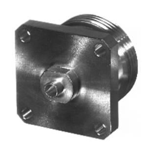 RFD-1644-2SR3 RF Industries 7/16 DIN FEM 4-HOLE FLANGE, S,S,T; FOR 250 SEMI RIGID, CBL GRP SR3