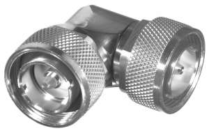 RFD-1651-2 RF Industries 7/16 DIN MALE TO 7/16 DIN MALE Right Angle ADAPTER; S,S,T