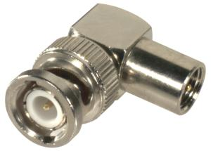 RFE-6103 RF Industries FME MALE Right Angle TO BNC MALE ADAPTER, N-G-T