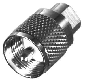 RFE-6112 RF Industries FME MALE TO UHF MALE ADAPTER, N-G-T
