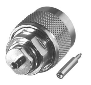 RFN-1005-1SR1 RF Industries Nickel, MALE, Nickel,Gold,T; FOR 085 SEMI-RIGID CABLE, CBL GRP SR1