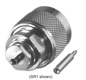 RFN-1005-1SR2 RF Industries Nickel, MALE, Nickel,Gold,T; FOR 141 SEMI-RIGID CABLE, CBL GRP SR2
