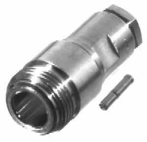 RFN-1025-1 RF Industries Nickel, FEM SOLDER CLAMP, S,Gold,T; FOR RG-142/U & RG-58/U, CBL GRP C,C1