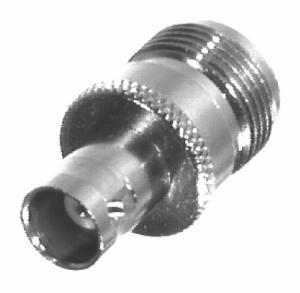 RFN-1039-1 RF Industries N FEM TO BNC FEM ADAPTER, S,Gold,T
