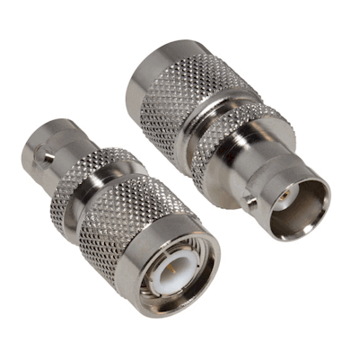 RFT-1231 RF Industries TNC MALE TO BNC FEM ADAPTER, Nickel,Gold,T