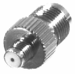 RFT-1241-4 RF Industries TNC FEM TO SMA FEM(MOTORLA) ADAPTER, Nickel,Gold,T