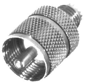 RFU-626 RF Industries M-UHF FEM TO UHF MALE ADAPTER, Nickel,Gold,T