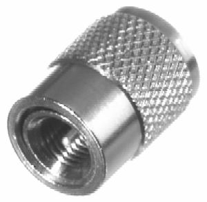RFU-645 RF Industries M-UHF MALE TO UHF MALE ADAPTER, Nickel,S,D