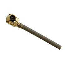 RFW-10507-12 RF Industries MHF Right Angle PLUG TO PIGTAIL; 113MM COAXIAL CABLE