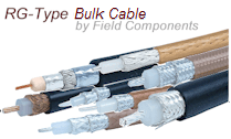 RG Type Bulk Coaxial Cable