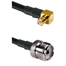 Right Angle MCX Male To UHF Female Connectors RG188 Cable Assembly