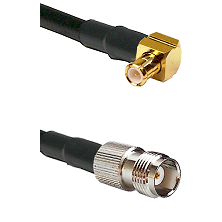 Right Angle MCX Male On RG223 To TNC Female Connectors Coaxial Cable