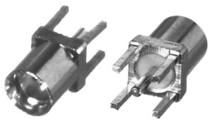 RMX-9350-1 RF Industries MMCX, VERTICAL PCB JACK, Gold,Gold,T