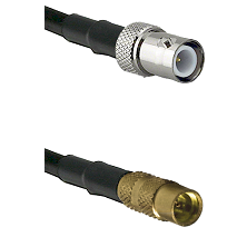 BNC Reverse Polarity Female on LMR100 to MMCX Female Cable Assembly