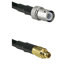 BNC Reverse Polarity Female on LMR100 to MMCX Male Cable Assembly