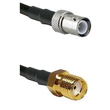 BNC Reverse Polarity Female on LMR-195-UF UltraFlex to SMA Reverse Thread Female Coaxial Cable Assem
