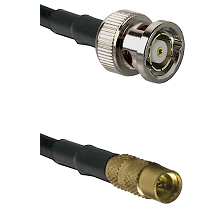 BNC Reverse Polarity Male on LMR100 to MMCX Female Cable Assembly