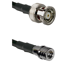 BNC Reverse Polarity Male on LMR100 to QMA Male Cable Assembly