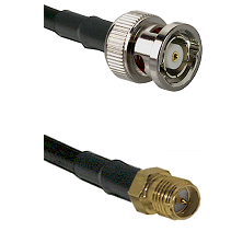 BNC Reverse Polarity Male on LMR-195-UF UltraFlex to SMA Reverse Polarity Female Coaxial Cable Assem